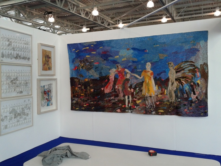 Alice Kettle at K&S Olympia 1